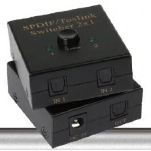 Digital Audio switcher 2x1