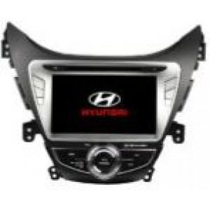 Radio samochodowe dotykowe z GPS Bluetooth USB SD DVB-T ZDX-8028 do HYUNDAI Elantra / Avante / I35 2011-2013