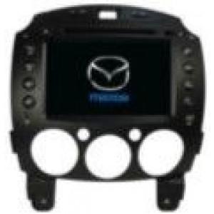 Radio samochodowe dotykowe z GPS Bluetooth USB SD DVB-T ZDX-8002 do MAZDA MAZDA 2 2010-2012