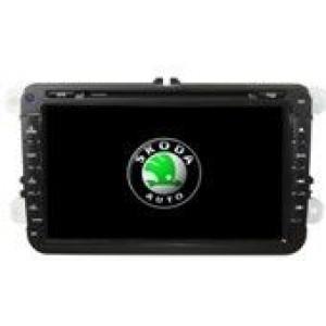 Radio samochodowe dotykowe z GPS Bluetooth USB SD DVB-T ZDX-8032 do SKODA OCTAVIA II 2005-2010 OCTAVIA III 2005-2010 FABIA 2005-2010 SUPERB 2005-2009