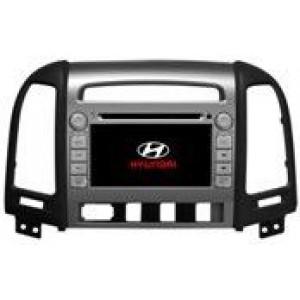Radio samochodowe dotykowe z GPS Bluetooth USB SD DVB-T ZDX-7024 do HYUNDAI SANTA FE 2006-2012