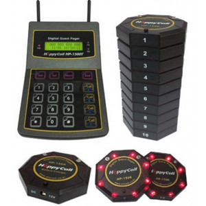 Guest Pager System HP-1500T + HP-150A + HP-150R