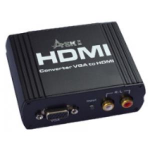 VGA to HDMI convert VGA+ R/L to HDMI output Up to 1080P