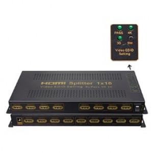 4KX2K HDMI Splitter 1--16 display support 3D