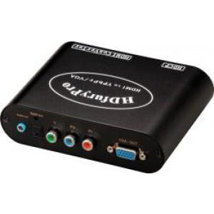 2 HDMI do Component/VGA+audio/optyczne konwerter