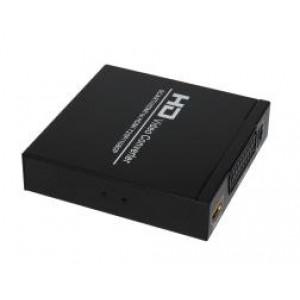 SCART+HDMI na HDMI 1080P konwerter