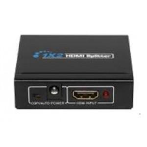 Splitter rozgałęźnik rozdzielacz HDMI v1.4a 1x2 3D EDID 1080P HDV-9812