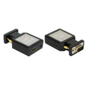 Mini-VGA+audio na HDMI konwerter
