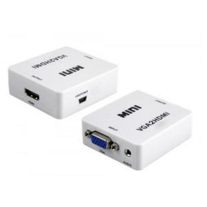 VGA + audio na HDMI Full HD 1080p konwerter HDV-M600