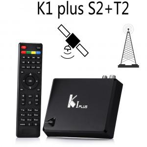 TV Box KI PLUS DVB T2/S2, Android 7.1, 1Gb/8Gb, Amlogic S905D Quad core 64-bit, 3D, 4K