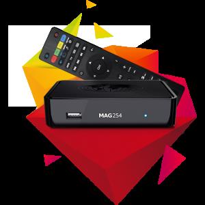 Potężny TV-BOX, IPTV SET-TOP BOX MAG254