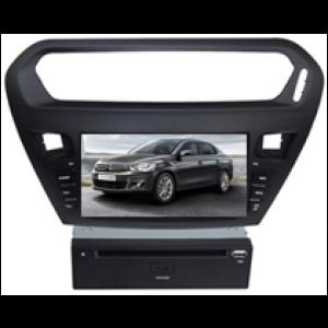 Multimedialny dotykowy system DVD ST-8242C do samochodow Peugeot 301, Citroen Elysee