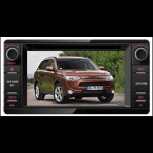 Multimedialny dotykowy system DVD ST-8323C do samochodow Mitsubishi Outlander 2013